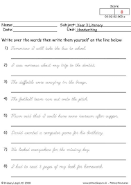 ideas of handwriting worksheets year 2 also format sample