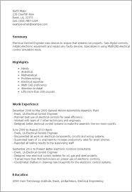 Resume Samples For Electrical Engineers by Download Controls Engineer Sample Resume Haadyaooverbayresort Com