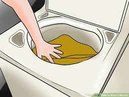 4 ways to wash a blanket wikihow