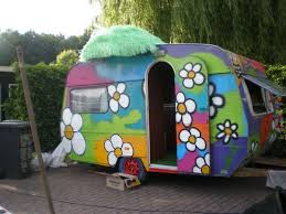 1586 best painted caravan images on pinterest vintage campers