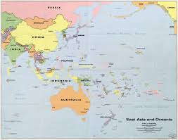 Asia On Map by Download Asia And Australia Map Major Tourist Attractions Maps