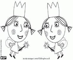 twins fairies ben holly coloring decoracion