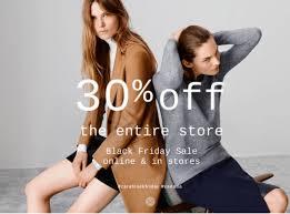 zara canada black friday sale take 30 the entire store both