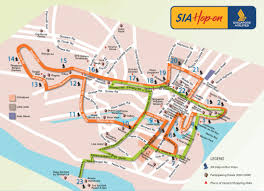 Map Route by Singapore Airlines Hop On Bus Route Map Singapore U2022 Mappery
