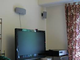 Best Way To Hide Wires From Wall Mounted Tv How To Hide Wall Mounted Speaker Wires In Your Apartment For Under