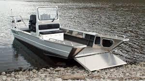 Aluminum Boat Floor Plans by Landing Craft 24 Aluminum Boat Manufacturer Thunder Jet