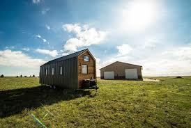 this tiny farm house on wheels starts at 63k sleeping loft