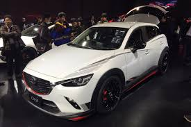 mazda cx3 2015 mazda cx 3 racing concept revealed in tokyo auto express