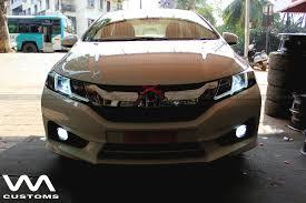custom honda custom honda city by vm customs lights on indian autos blog