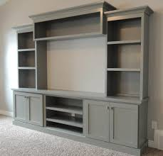 family room with large painted entertainment center bing images