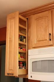 spice cabinets for kitchen upper cabinet pull out types unique upper cabinet spice rack pull