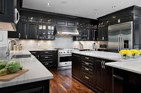 custom kitchen cabinet doors ottawa ottawa mocha kitchen cabinets home traditional with wood
