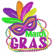 mardi gras mask gras mask with feathers and applique machine embroidery