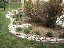 Rock Borders For Gardens Rocks For Landscape Edging Mreza Club