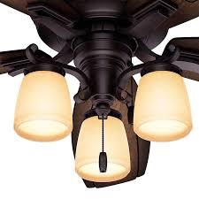 Hunter 54 Ceiling Fan by Hunter Prestige Willowcrest 54 In Indoor Ceiling Fan Hayneedle