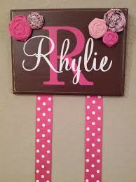bow holders best 25 hair bow holders ideas on bow holders for