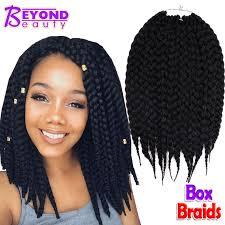 box braids with human hair box braids hair crochet 12 18 crochet hair extensions synthetic