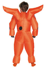 Inflatable Halloween Costumes Boys Red Baymax Inflatable Costume