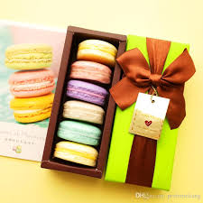 Decorative Christmas Gift Boxes 100 Handmade France Macarons Coconut Oil Soap Body Skin Whitening