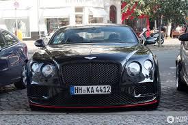 black bentley sedan bentley continental gt speed black edition 2016 10 september
