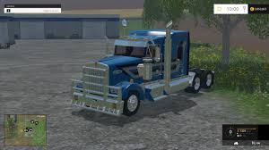 kenworth truck repair kenworth w900l truck v1 0 farming simulator 2017 2015 15