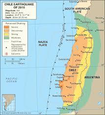Earthquake Map Oregon by On February 27 2010 A Magnitude 8 8 Earthquake Struck Chile