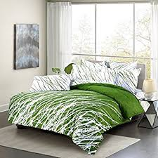Green Duvets Covers 45 Best Lime Green Duvet Cover Images On Pinterest Intended For