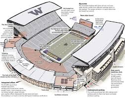 Map Seattle Eastside Wire Get by New Improved Husky Stadium Ready To Shine The Seattle Times