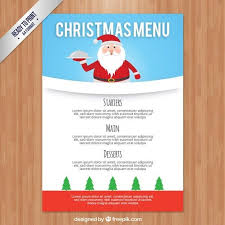 free xmas menu templates free printable holiday dinner decor blog