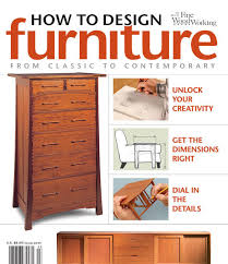 how to design furniture finewoodworking