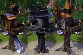 treehouse the sims wiki fandom powered by wikia tree houses l r