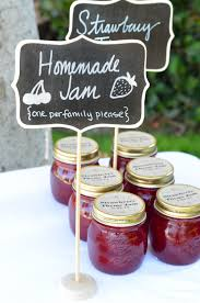 jam wedding favors wedding favors jam