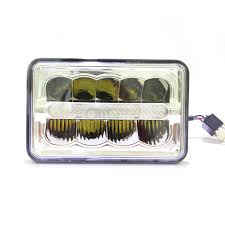 light brown jeep 2x led 4