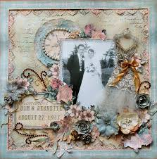 Wedding Scrapbook Page 23 Best Wedding Images On Pinterest 50th Wedding Anniversary