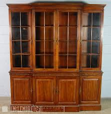 solid oak china cabinet davis cabinet company solid wood china cabinet mclemore auction
