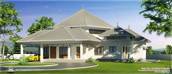 home design nice sloped roof kerala indian house plans amazing