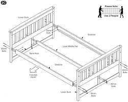 Assembling A Bed Frame Adjustable Bed Bunk Assembly How To