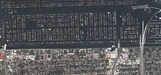 New Orleans Levee Map by Hurricane Katrina Floods The Southeastern United States Natural