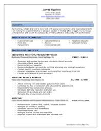 Great Resume Objectives Examples by Successful Resume Examples Chic Design Best Resume Objective 5