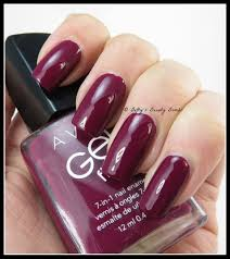 avon gel nail polish reviews very berry is from the gel finish