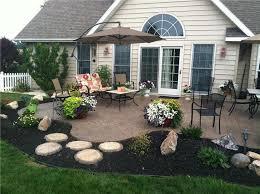 Simple Backyard Patios 57 Best Concrete Patios Images On Pinterest Gardens Backyard