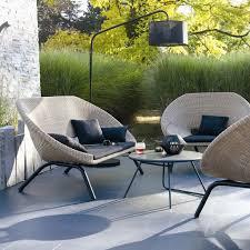 canapé mobilier de impressionnant salon de jardin pour balcon et mobilier de jardin