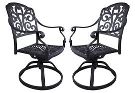 Swivel Outdoor Chair California Outdoor Designs Roma Swivel Rocking Chair Set Wayfair