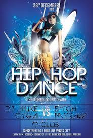 download free hip hop dance flyer template