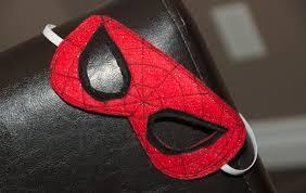 diy spiderman mask dagenais daily