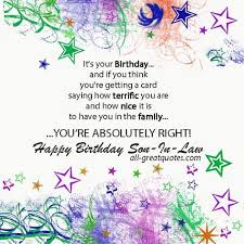 happy birthday son in law wishes to post on facebook google
