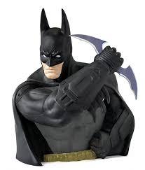 halloween busts amazon com monogram arkham asylum batman bust bank toys u0026 games