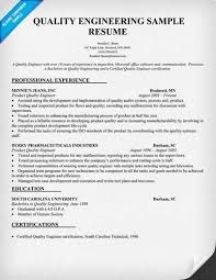 quality assurance resume quality assurance resume sles quality engineer resume tgam