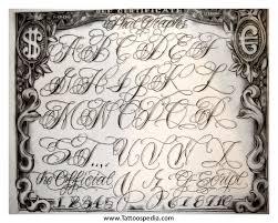 la tattoo font l a style tattoo fonts 4 lettering