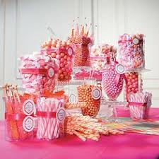 Pink Wedding Candy Buffet by 5 Tips For The Perfect Candy Buffet Orange U0026 Pink Display By